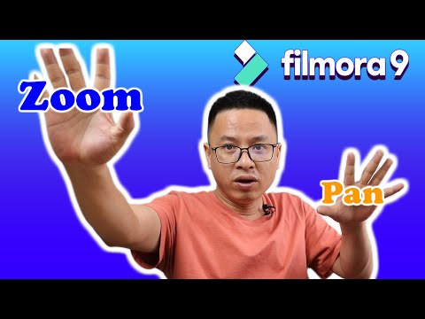 Filmora9 Tips and Tricks| Zoom and Pan on The Screen Tutorial