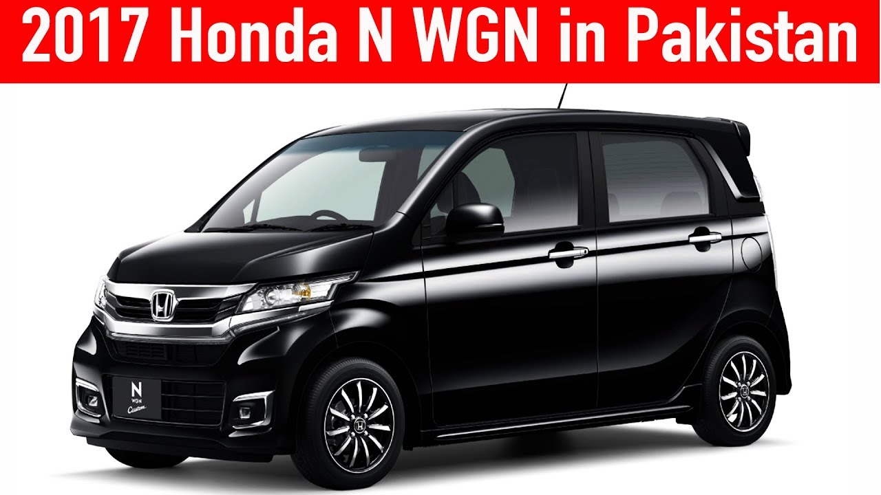 2017 Honda N wgn in Pakistan - YouTube