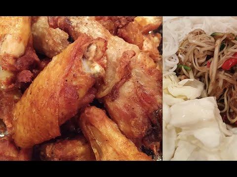 C/w Nana: Fried Chicken (ຈືນໄກ່ == Jeun Gai)