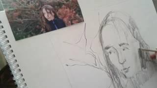 Tegn portræt af din kære med vejledning af portrætkunstneren Xenia Michaelsen.