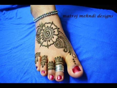 Mehndi Designs For Feet And Hands : Mehndi design for feet photos funmag