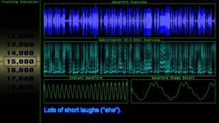Réseau de neurones Apprend à Générer de la Voix (RNN/LSTM)