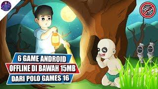 6 Game Android Offline di Bawah 15 MB dari Polo Games 16 (Developer Indonesia)