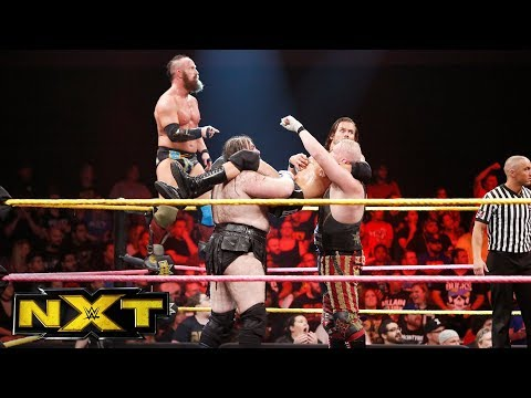 Thumbnail: SAnitY vs. The Undisputed ERA: WWE NXT, Oct. 18, 2017