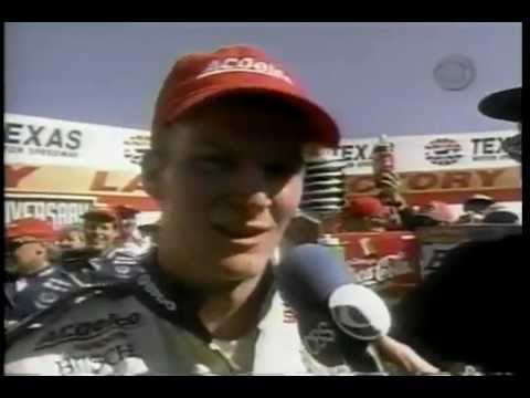 1998 Nationwide Series Coca Cola 300 at Texas Motor Speedway Dale Jr 1st Win