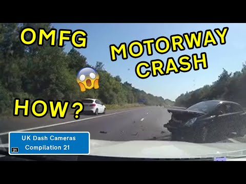 UK Dash Cameras - Compilation 21 - 2020 Bad Drivers, Crashes + Close Calls
