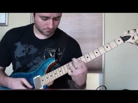 Space Noodles on a Johnny Hiland PRS - YouTube