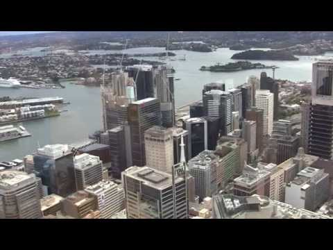 Sydney Tower, Sydney, New South Wales, Australia - 26th August, 2015