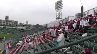 Romantic railroad JR Kyushu official baseball team cheering team baseball game against baseball game