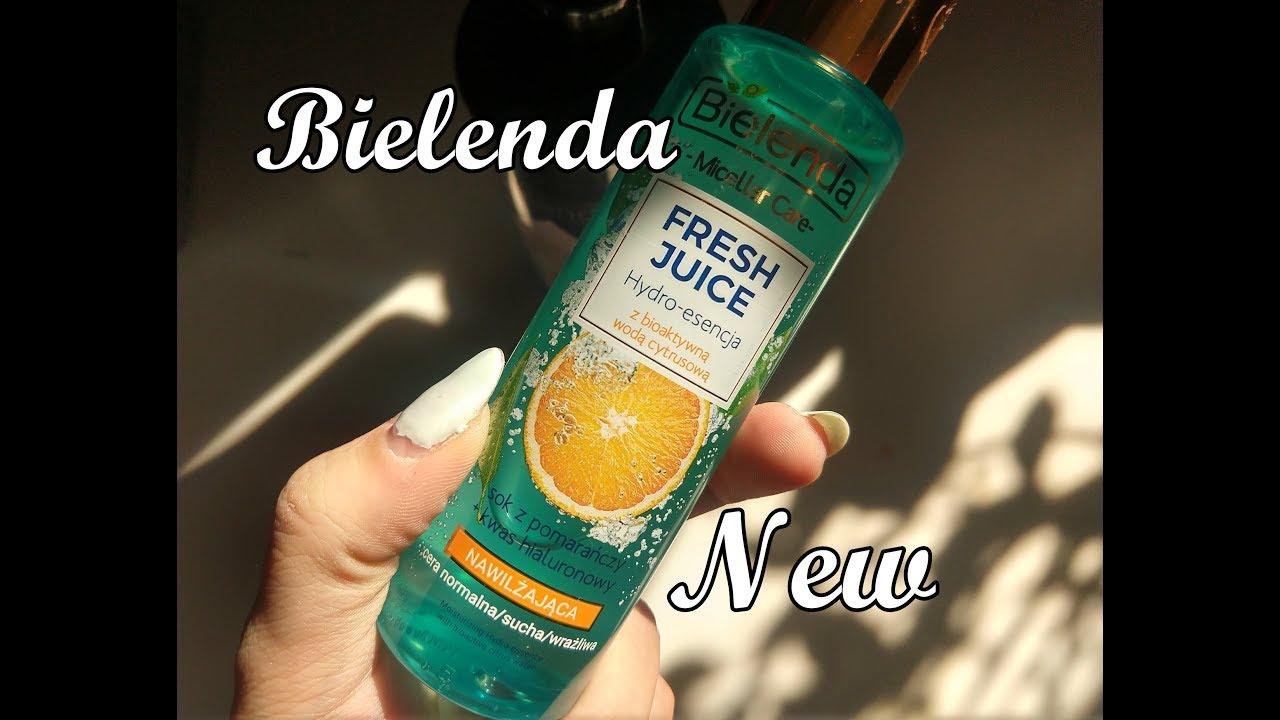 BIELENDA Camelia Oil & Black Sugar Detox  & Fresh Juice
