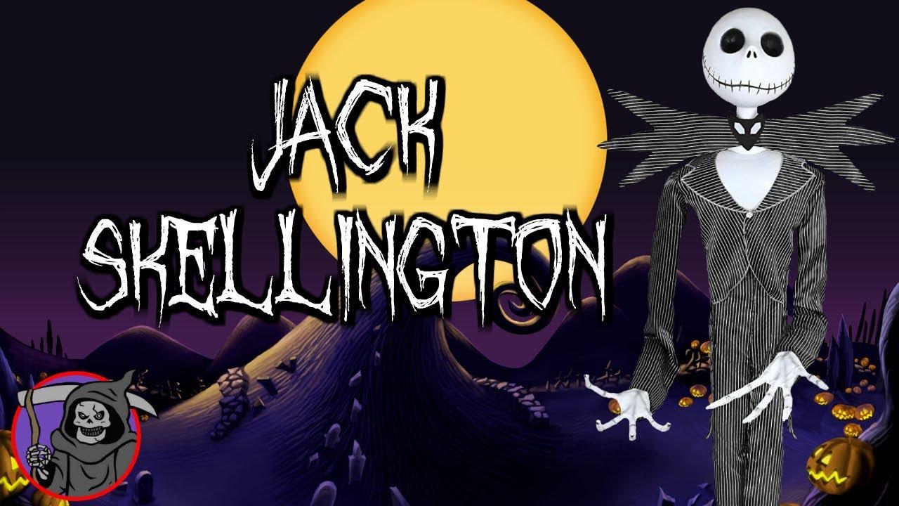 6 5ft jack skellington prop spirit halloween youtube