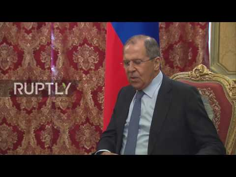 Russia: Moscow to 'actively' support OSCE in combating human trafficking - Lavrov