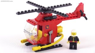 LEGO classic town Fire Copter 1 from 1982! set 6685