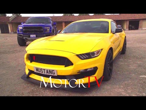 2017 FORD MUSTANG SHELBY GT350 5.2 V8 526 HP l BEAUTY SHOTS & TRACK DRIVING SCENES