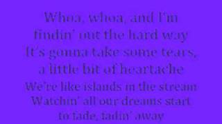 Cynthia Rhodes-Finding Out The Hard Way Lyrics