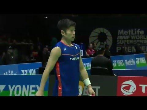 Yonex All England Open 2016   Badminton R16 M2-MS   Lin Dan vs Sho Sasaki