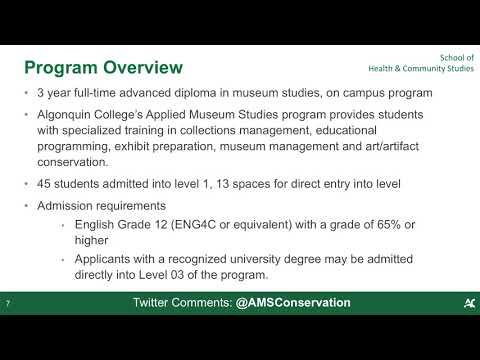 Webinar - Applied Museum Studies