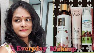 Simple makeup look /घर पर मेकअप कैसे करे
