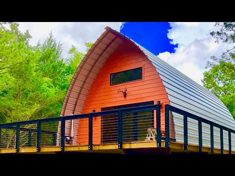 Arched Cabins : Build Your Own Home For Simple Living