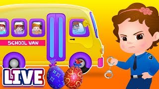 ChuChuTV Police Season 2 Episodes Collection - ChuChu TV Surprise Eggs Toys Live Stream