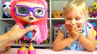 Новая кукла Алисы Гебби интерактивная кукла Interactive doll Gabby doll for kids unboxing