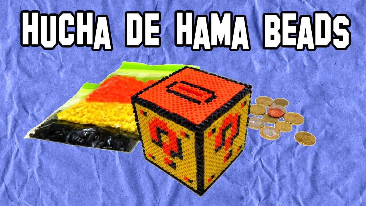 Cómo Hacer Una Hucha De Hama Beads - Experimentos Caseros ...