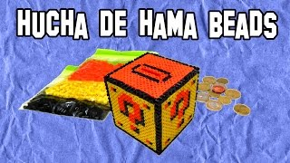 Como Hacer Una Hucha De Hama Beads | How to Make a Piggy Bank Hama Beads