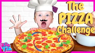 Baby Chooses what we do! Pizza Challenge with Kin Tin Fam