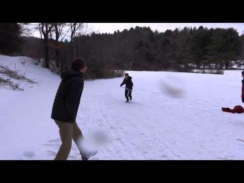 Snowsnake Practice December 27th - Melvilles