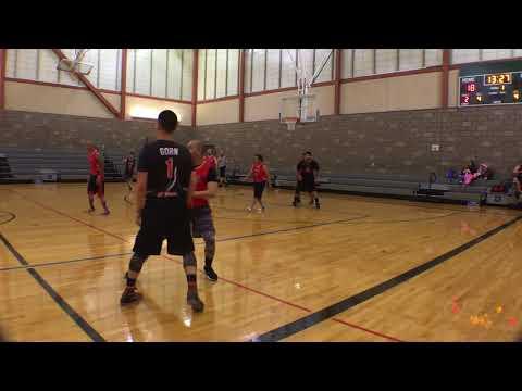 Gut Fitness Sports Adult Basketball League Season 9 week 7 Game 2 Gangstas vs Jaguars
