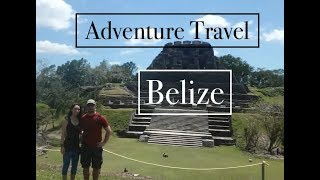 BELIZE: Caves, Canoe, Jungle & Mayan Ruins: Part 2/2: Adventure Travel VLOG- (pwfin)