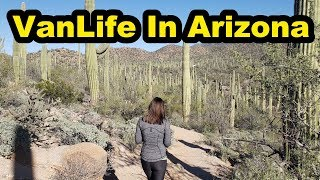 Vanlife in Arizona | Best Free Camping in Arizona