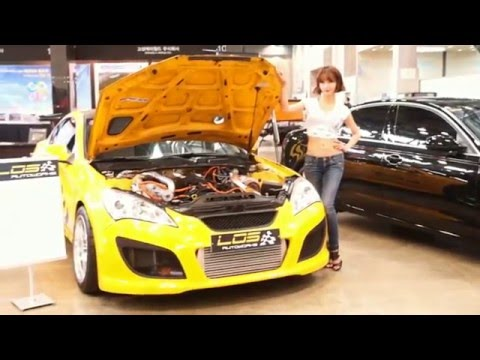 Korean Tuning Cars Show 2014′