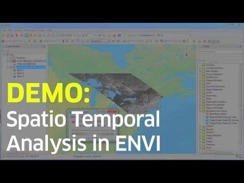 Spatio Temporal Analysis in ENVI