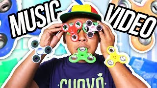 Gambar cover I Love FIDGET SPINNERS! [Official Music Video]