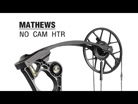 Mathews No Cam HTR bare shaft test & NEW bow review com