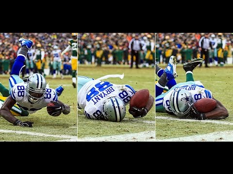 Dez Bryant Catch Ruled Incomplete Slow Mo Hd