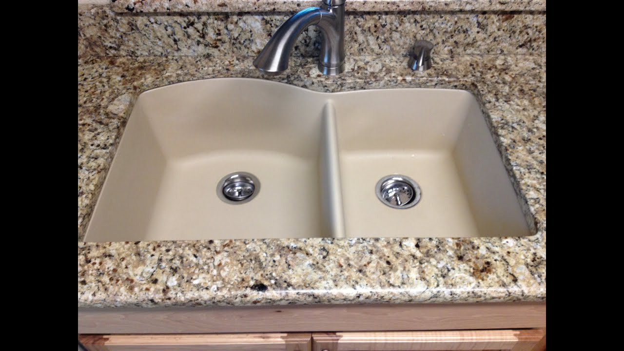 marvelous Kitchen Sinks Granite Composite #7: The Pros and Cons of Different Sinks - YouTube