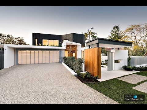 Modern Contemporary 16,000 SQ FT 2 Level 5 Bed 4 Bath Home in Western Australia