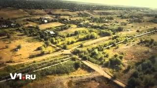 Заказ вертолета на свадьбу в Волгограде, ночной Волгоград с вертолета Aviapresent ru