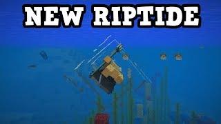 Minecraft 1.13 - New Trident & PHANTOM DROP