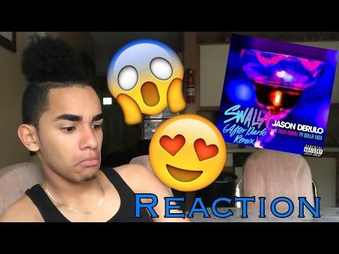 Jason Derulo - Swalla (feat. Nicki Minaj & Ty Dolla $ign) [After Dark Remix] REACTION