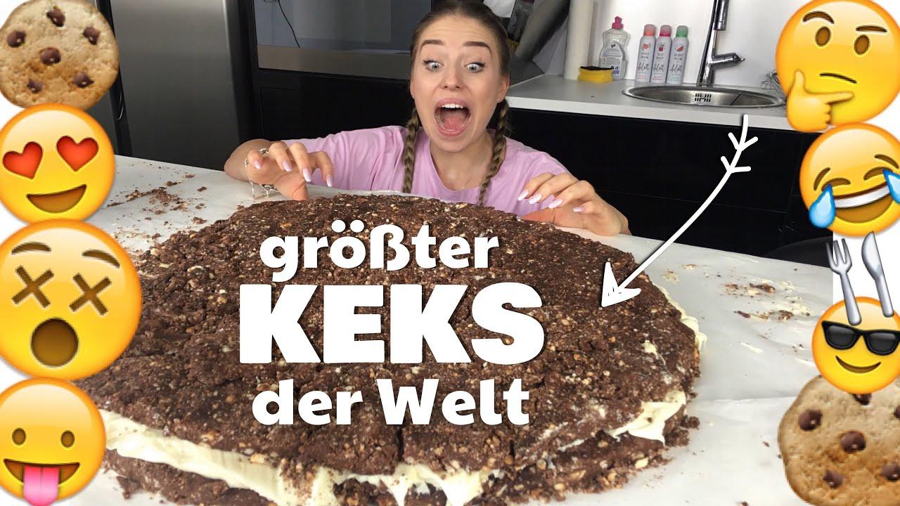 GRÖßTER KEKS Der WELT / 30.000 Kalorien / 6 Kg !! :O