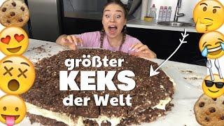 GRÖßTER KEKS der WELT / 30.000 Kalorien / 6 kg !! :O | BibisBeautyPalace