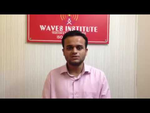 Waves Institute Pune  Telecom Training   Placed Student3