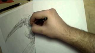 ♦ Zooc Draws - Tyranid Carnifex