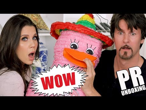 UNBOXING WITH TATI & JAMES + HUGE PR GIVEAWAY