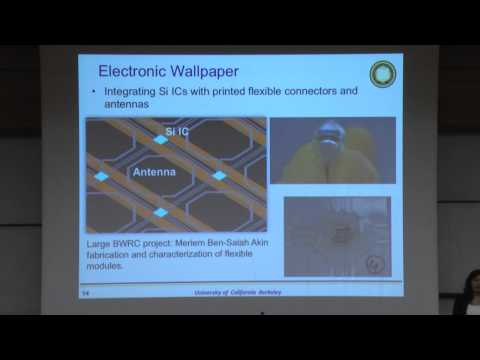 Printed Flexible Electronics - Ana Arias - Technion lecture