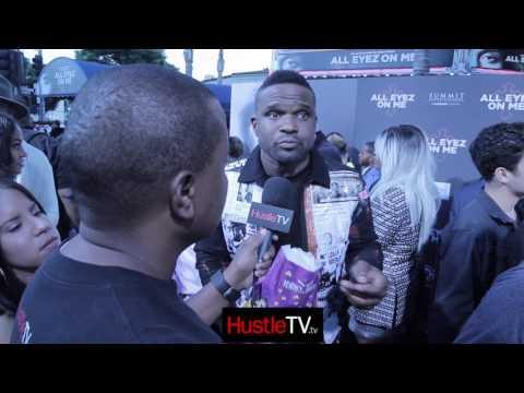 AllEyezOnMe Black Carpet Interview With Darius Mccrary