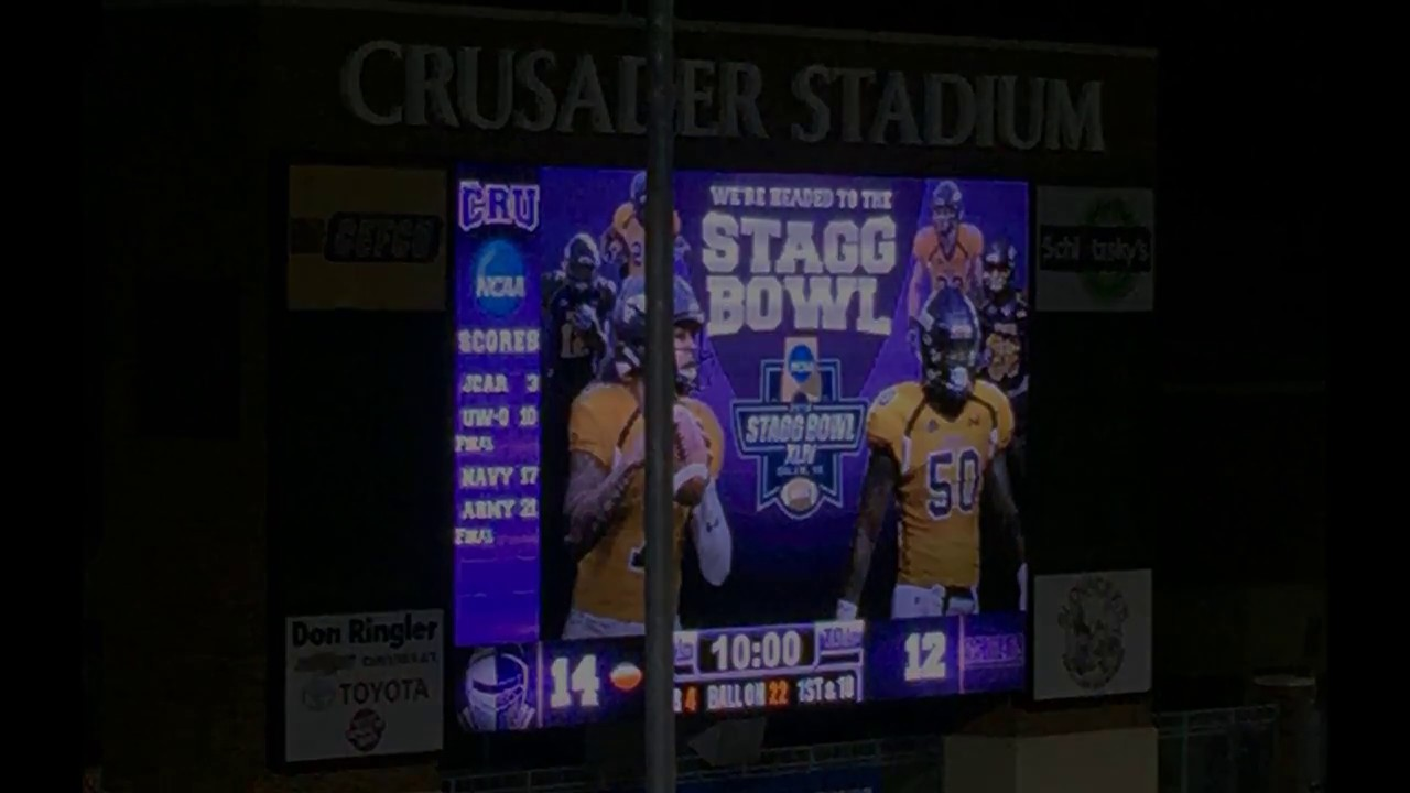 UMHB Football 2016 -- On the Road to the Stagg Bowl.